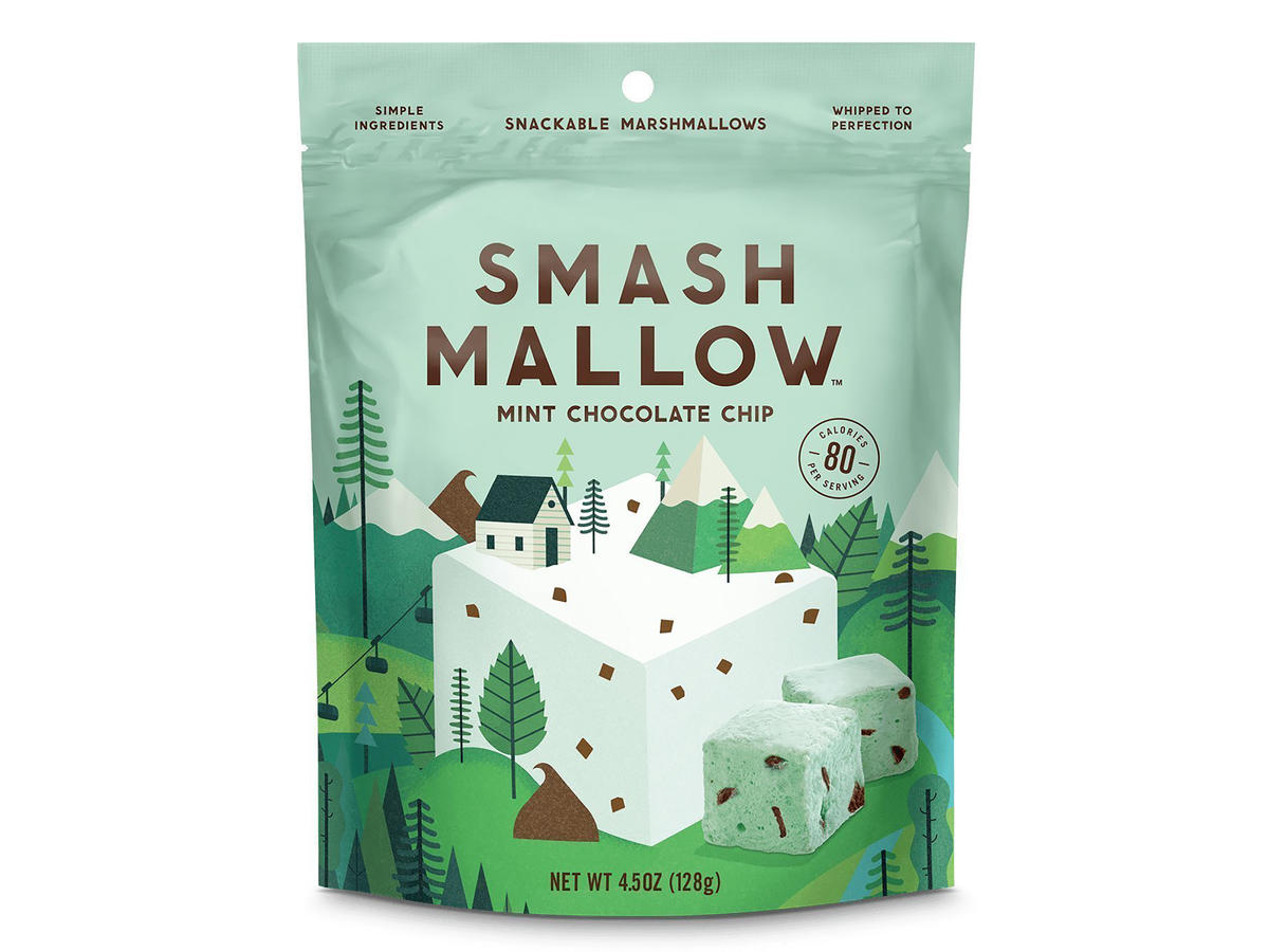 SmashMallow Flavored Air-Fluffed Marshmallows