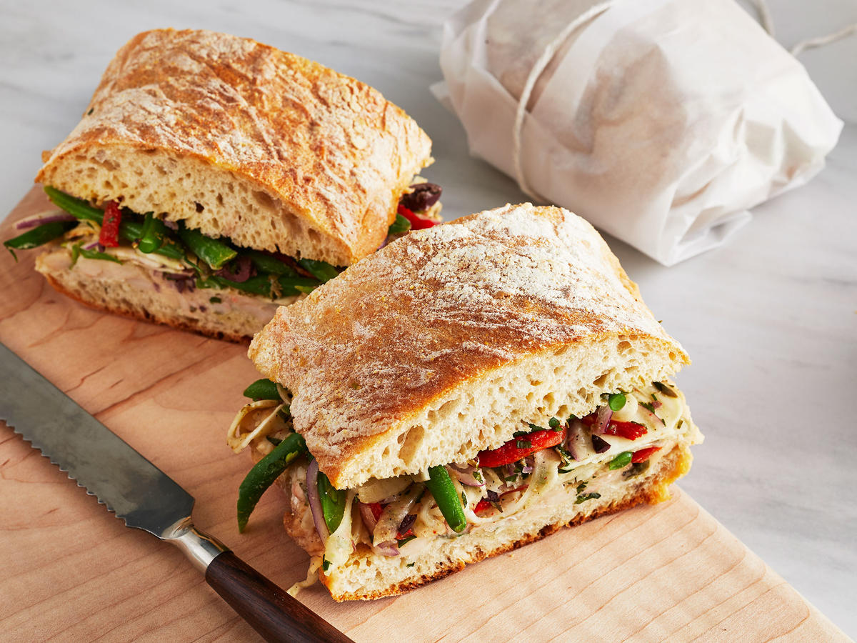 All-Veggie Pan Bagnat