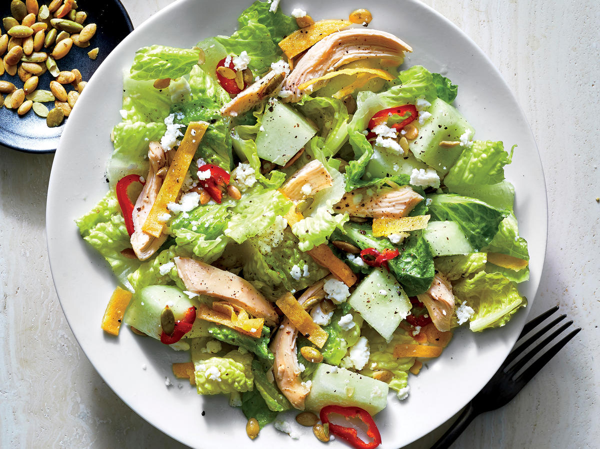 Chicken and Honeydew Salad