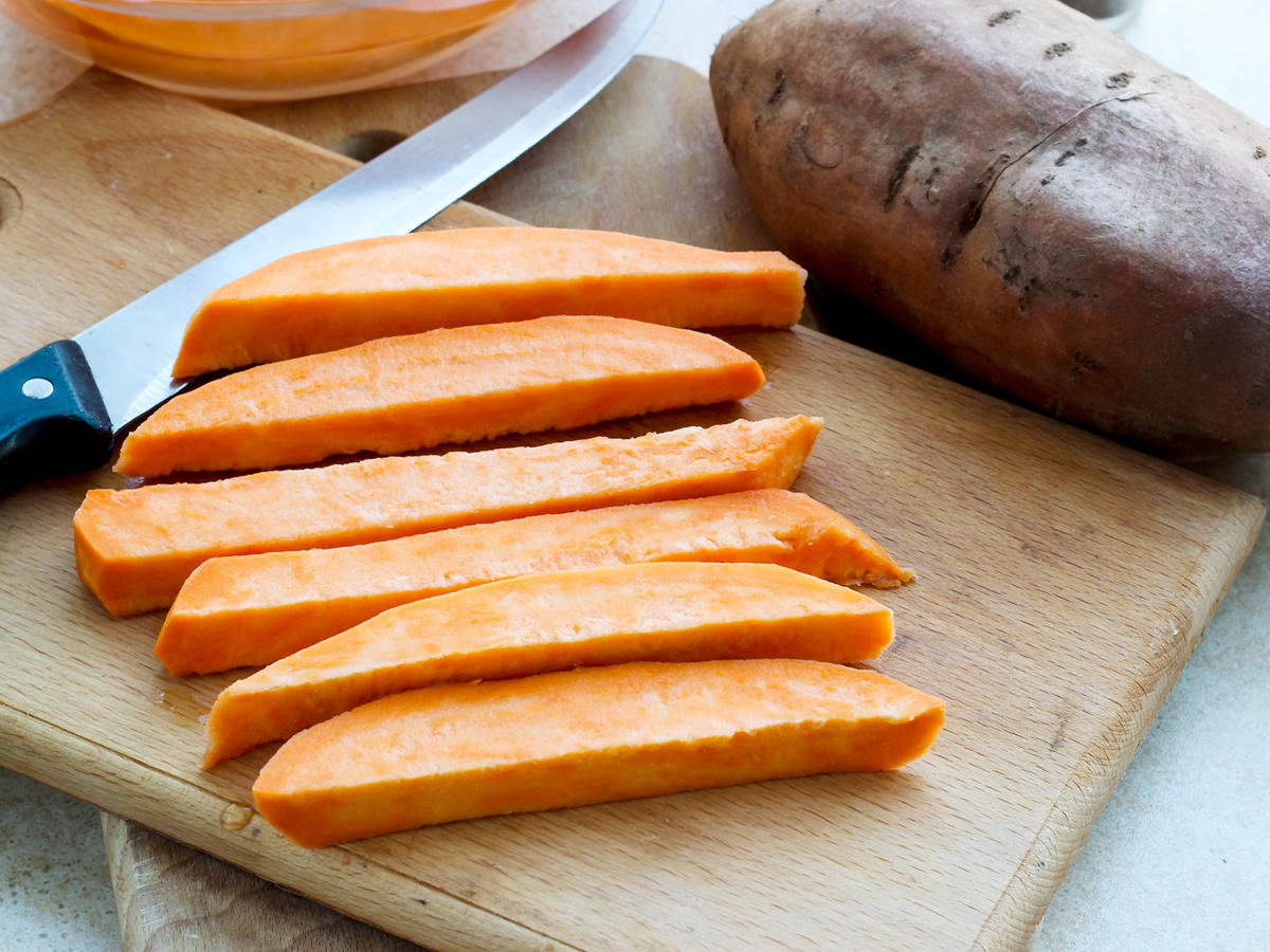 How to Prep Sweet Potatoes