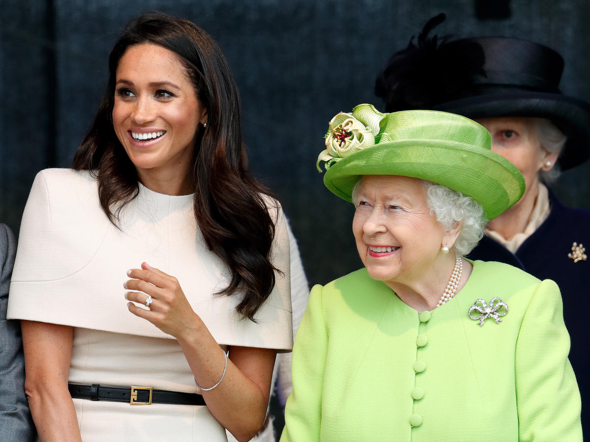 1806w Meghan Markle and the Queen