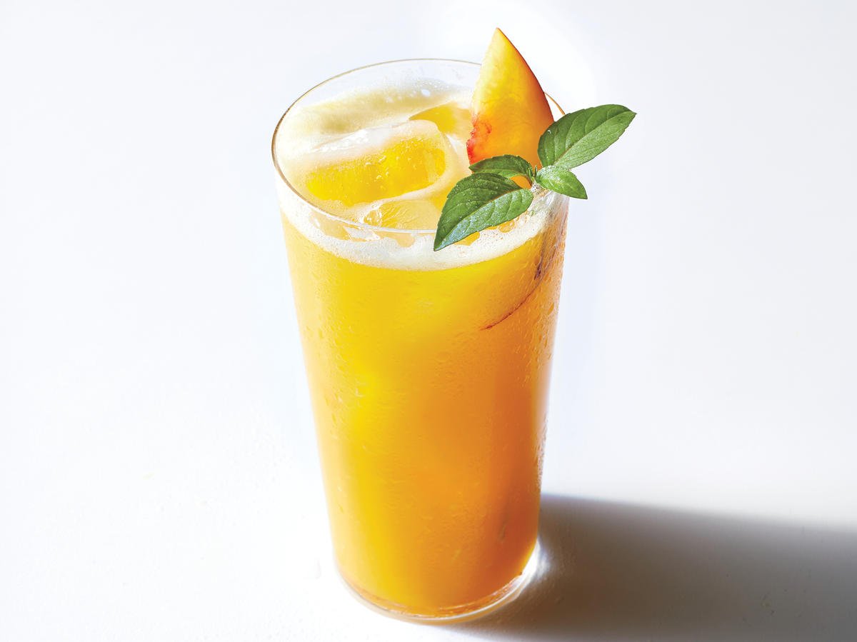 thai peach punch cocktail