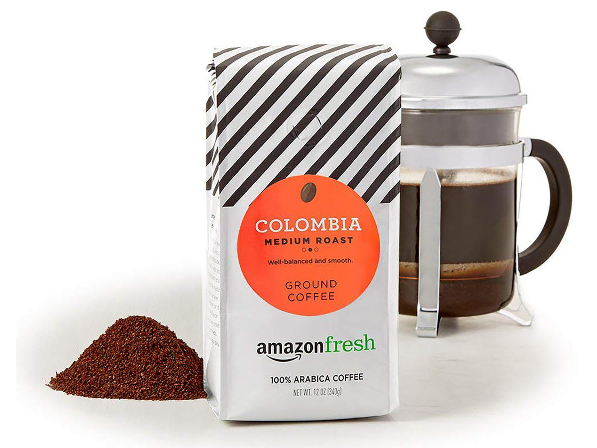 Colombian Arabica Ground Coffee, Pack of 3