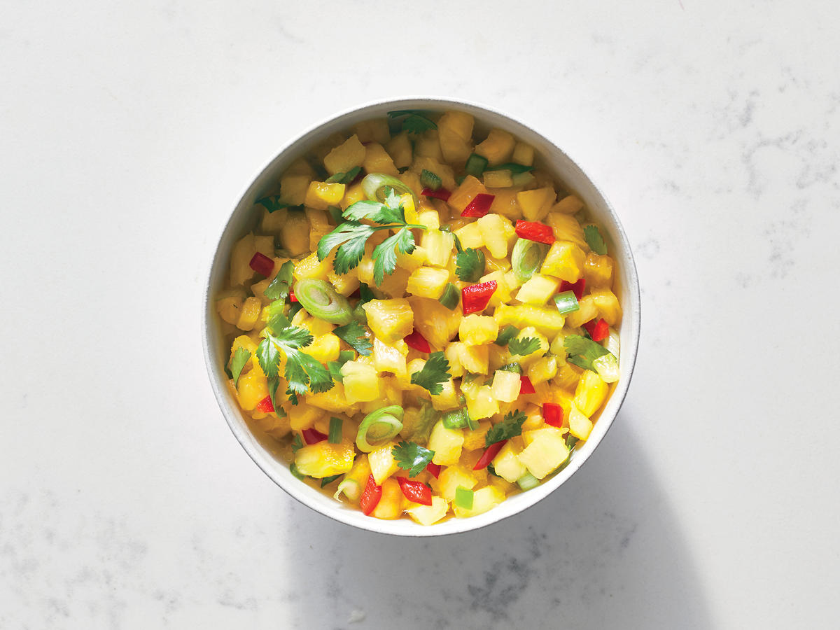 Pineapple-Chile Salsa