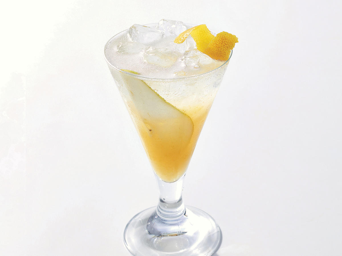 Pear-Prosecco Shrub