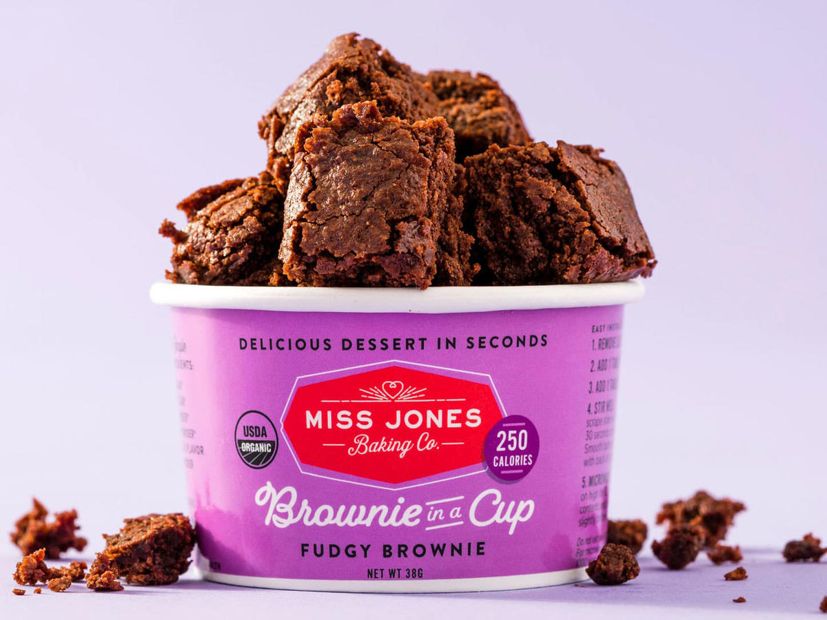 Miss Jones Baking Co. Brownie in a Cup