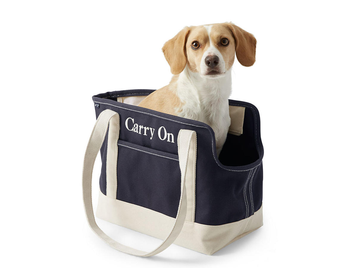 Lands' End Pet Tote