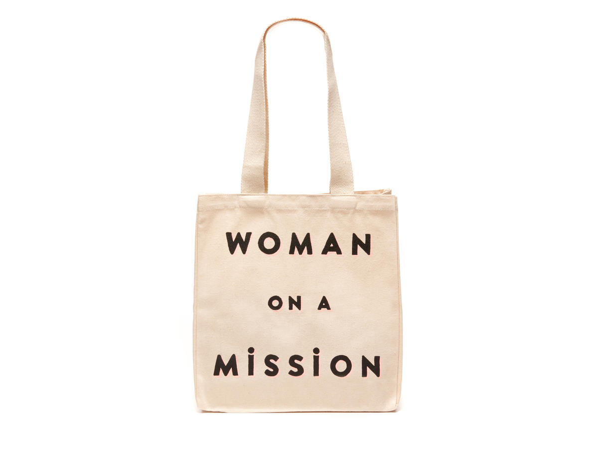 FEED Projects  Woman On A Mission  Tote