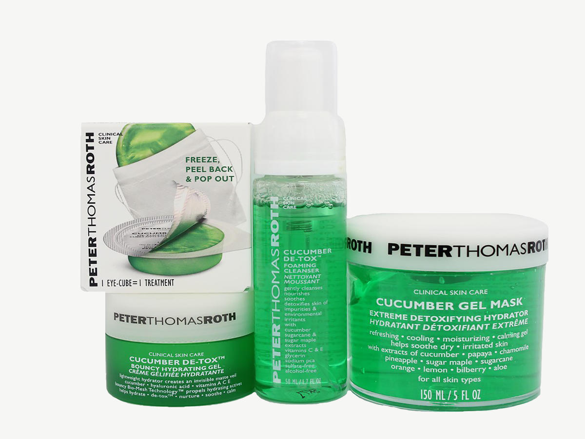 Peter Thomas Roth Cucumber Detox Kit