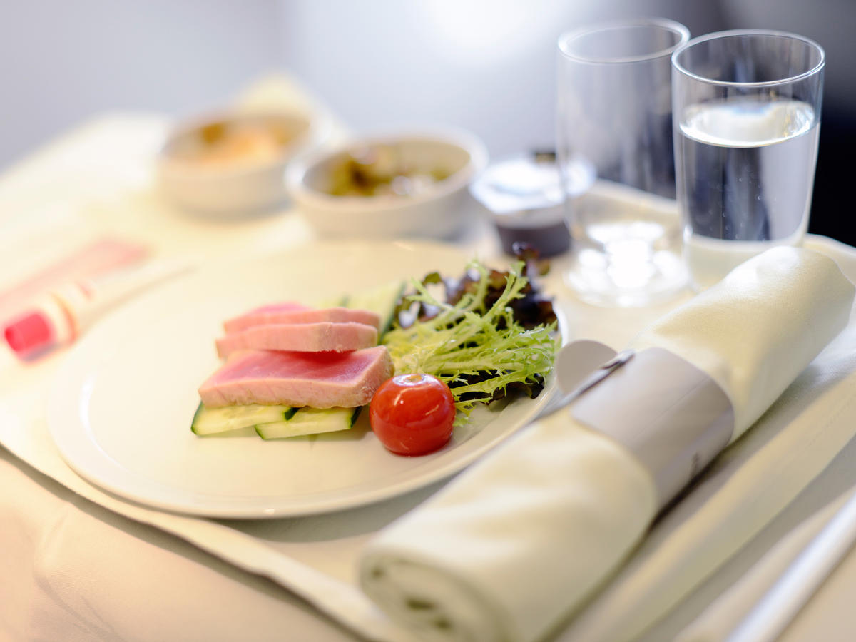 1808w Airline Meal Header