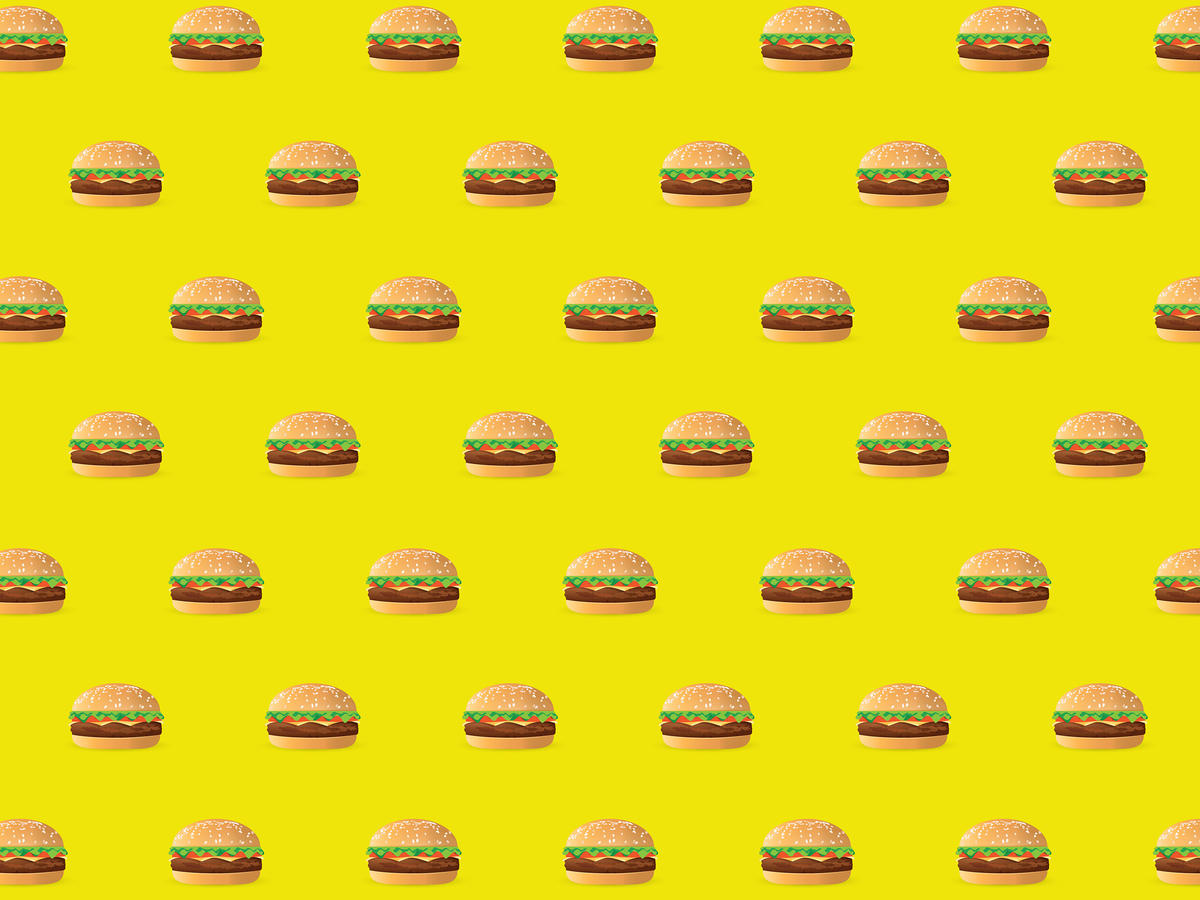 1810w Junk Food Hamburger Illustration EVERGREEN.jpg
