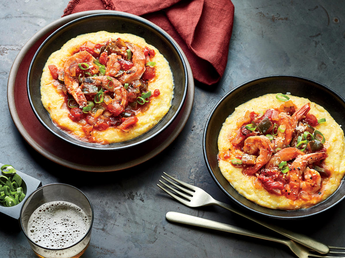 6. Shrimp and Grits
