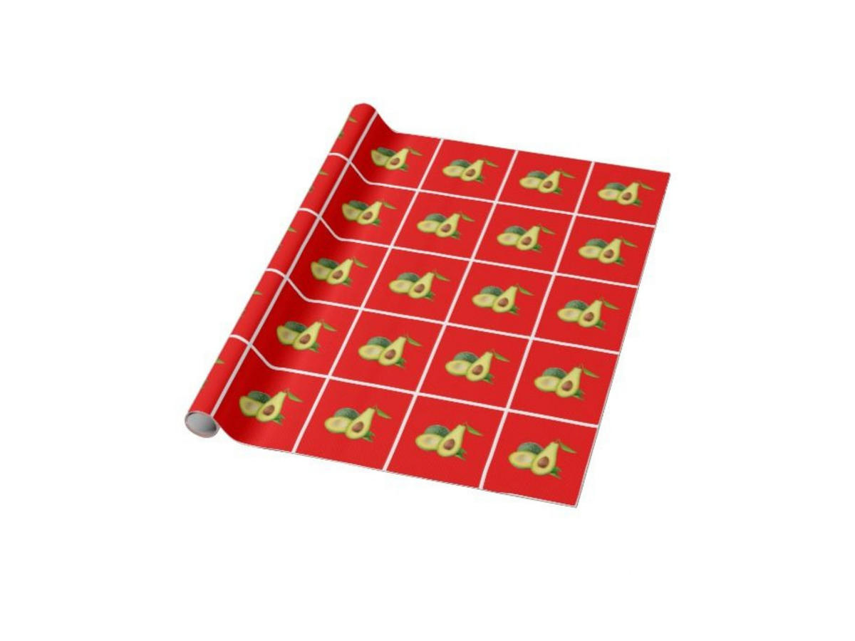 1811w Avocado Wrapping Paper
