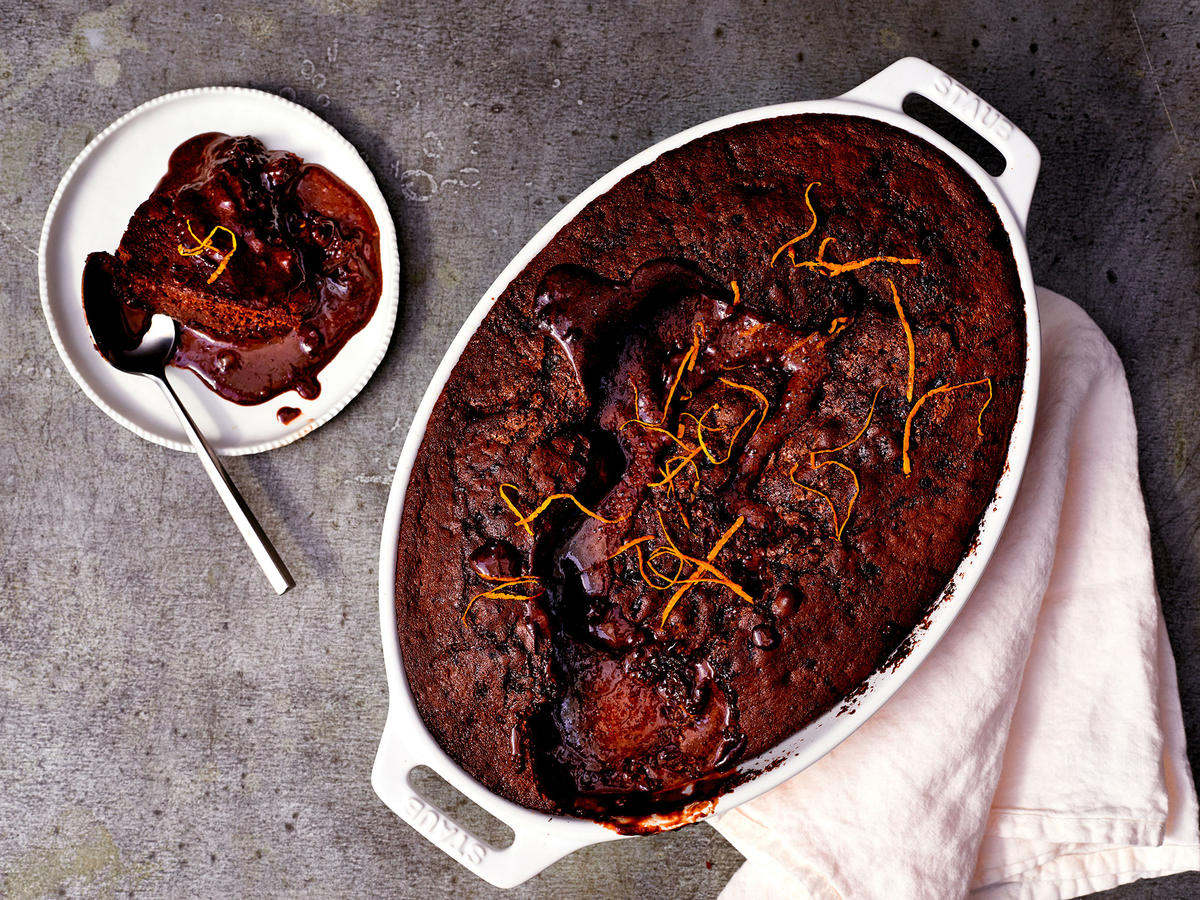 Chocolate Orange Self Saucing Pudding