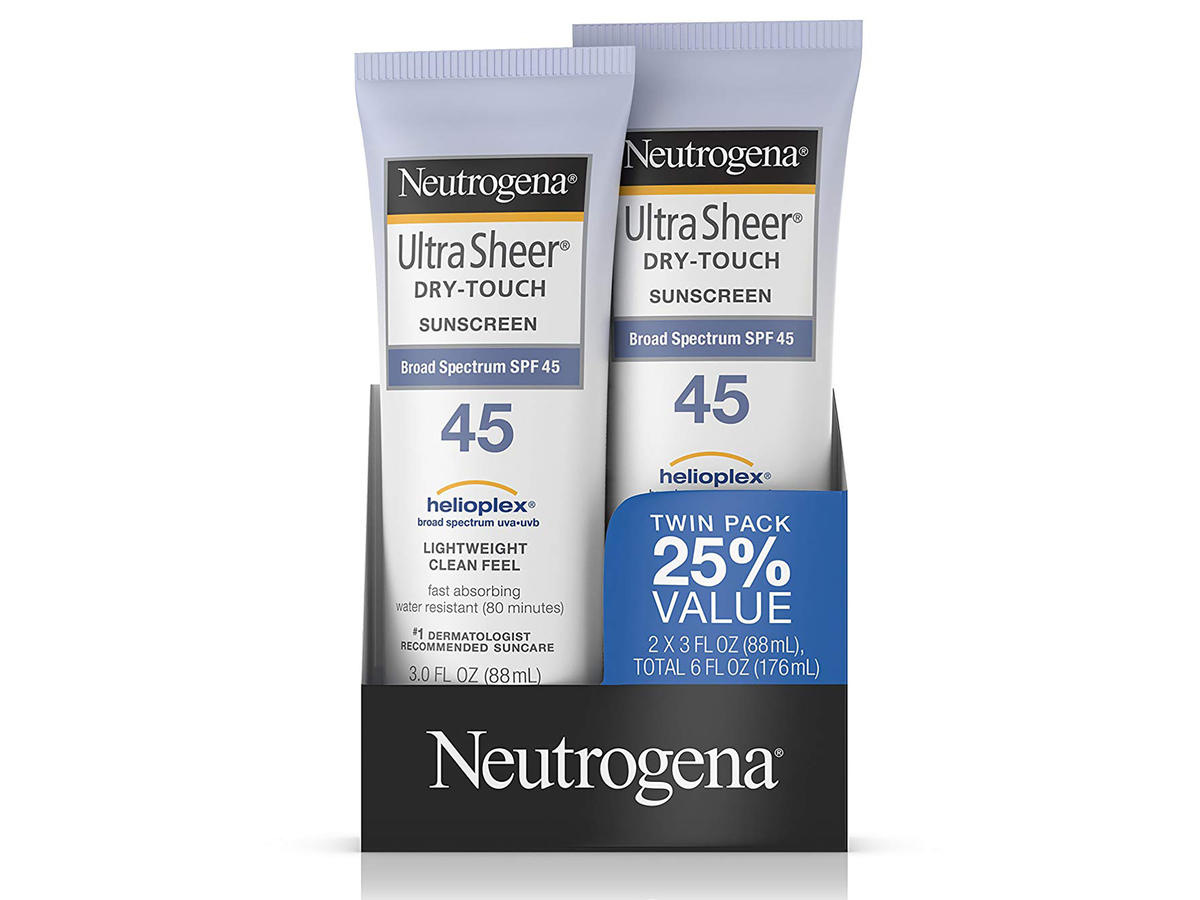Neutrogena Ultra Sheer Dry-Touch Water Resistant Sunscreen