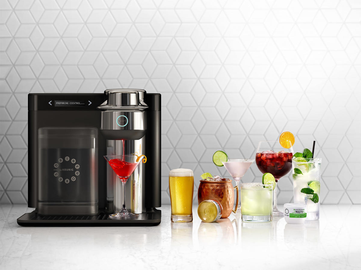 This New Keurig Machine Makes Cocktails Like Moscow Mules, Margaritas and Cosmos