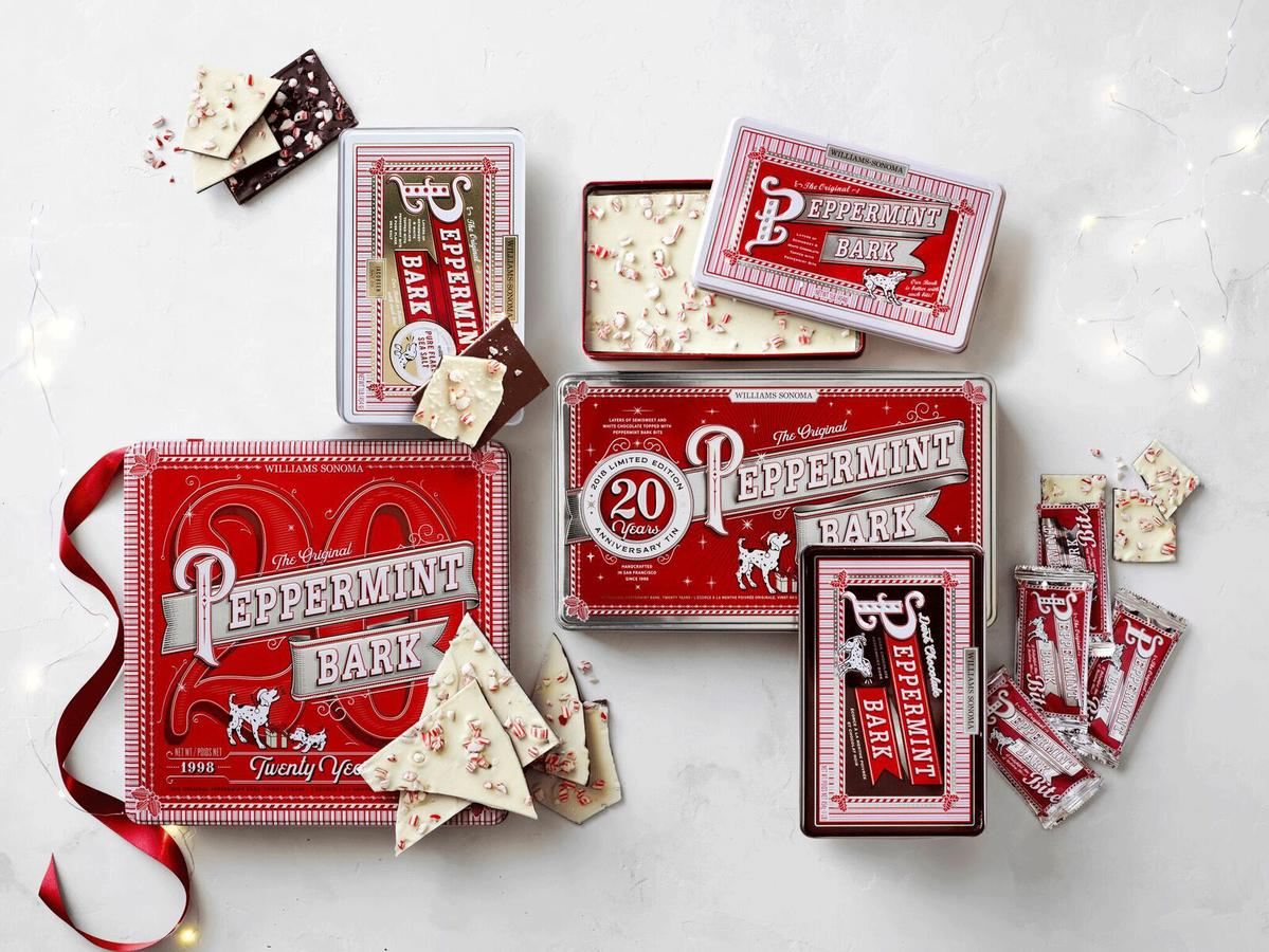 1812w 14 Williams Sonoma Holiday Deals You Don't Want to Miss Peppermint Bark