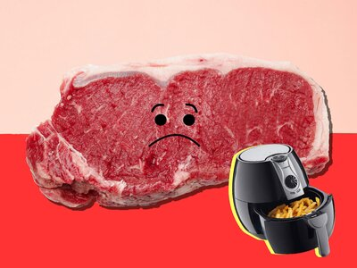 How To Cook Steak In An Air Fryer Cooking Light