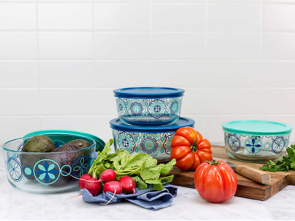 1812w Pyrex Containers