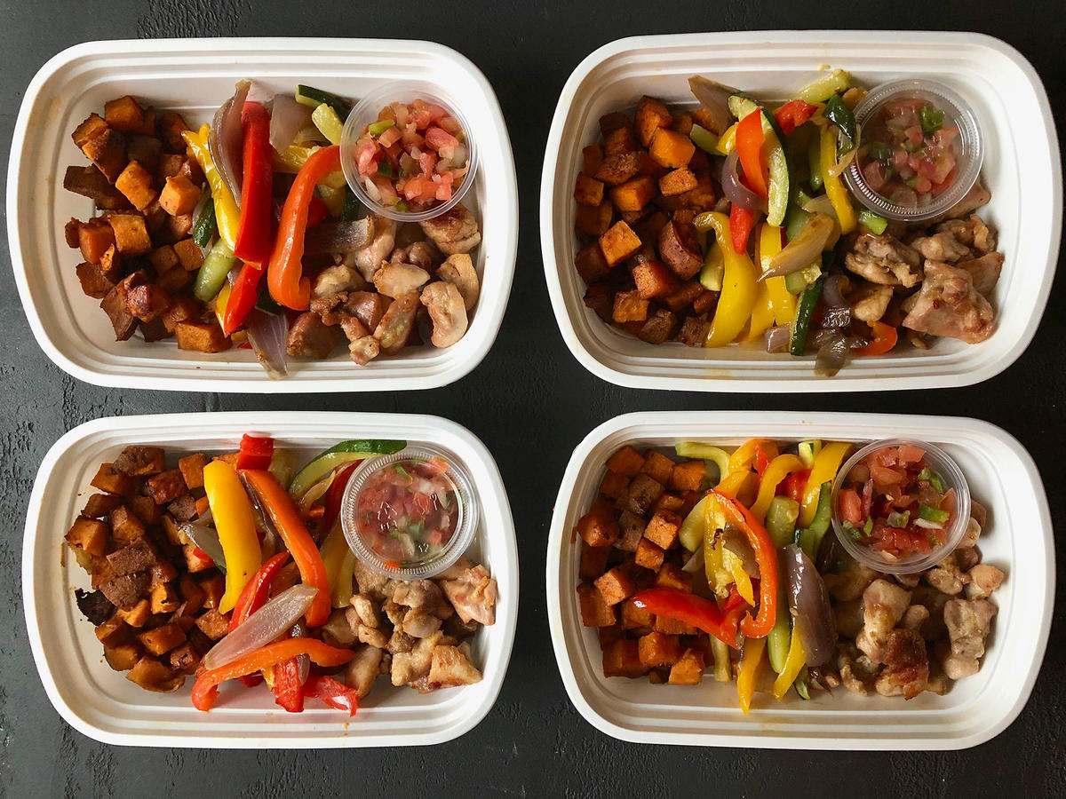Make Ahead Chicken Fajita Bowls