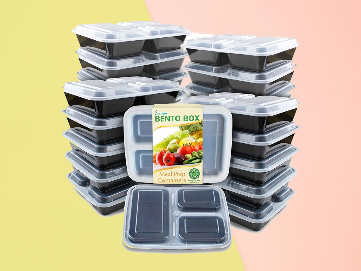 1901w Meal Prep Containers