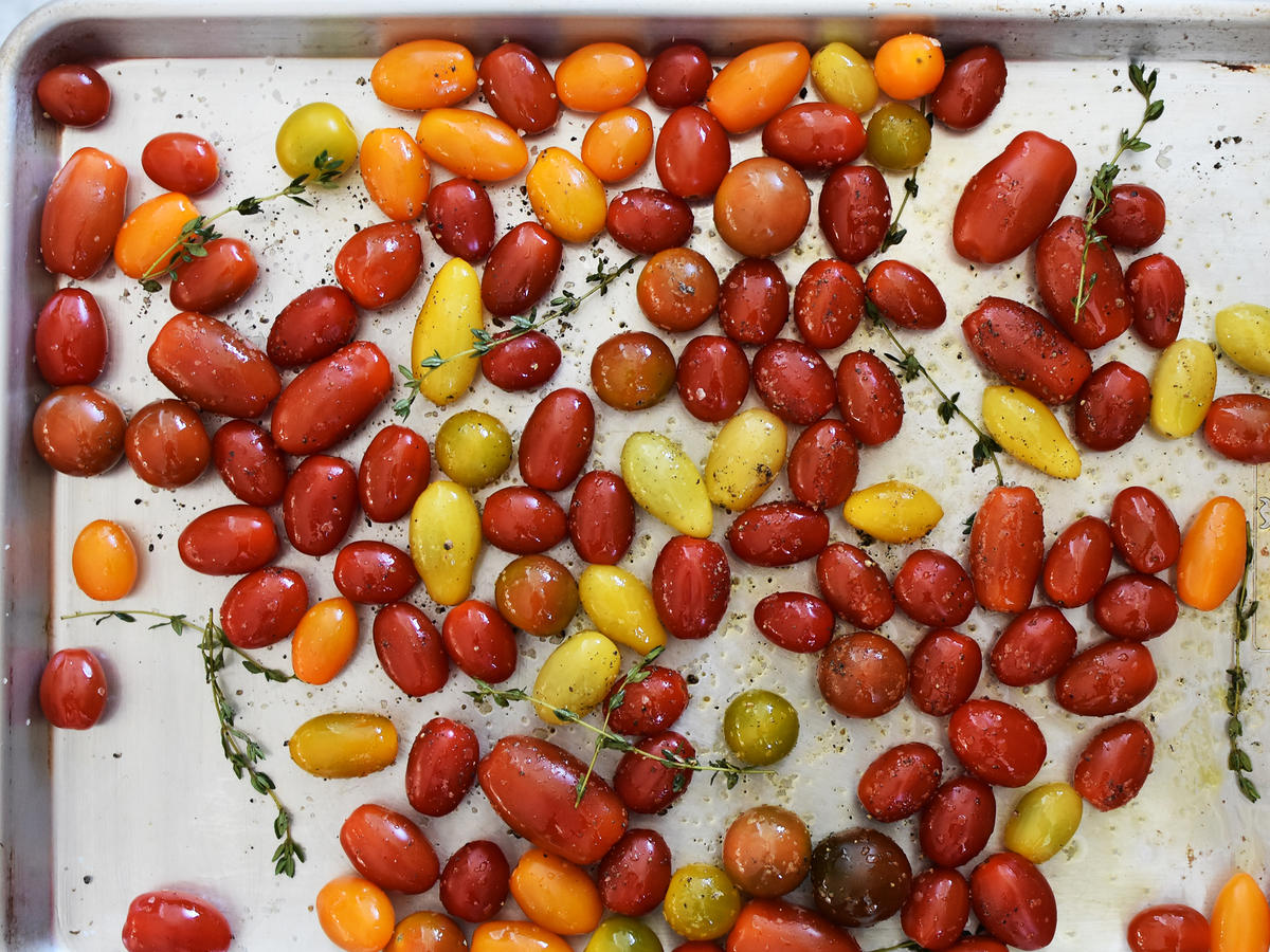 Seasoned Cherry Tomatoes