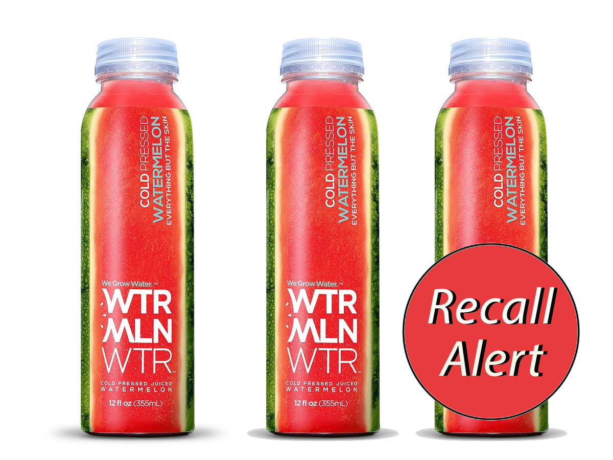 1902w Watermelon Juice Recall