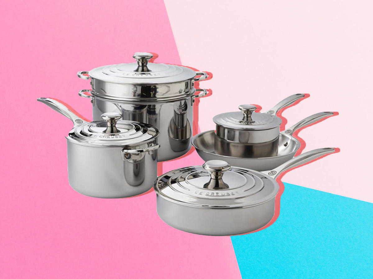 1902w All-Clad Pan Set