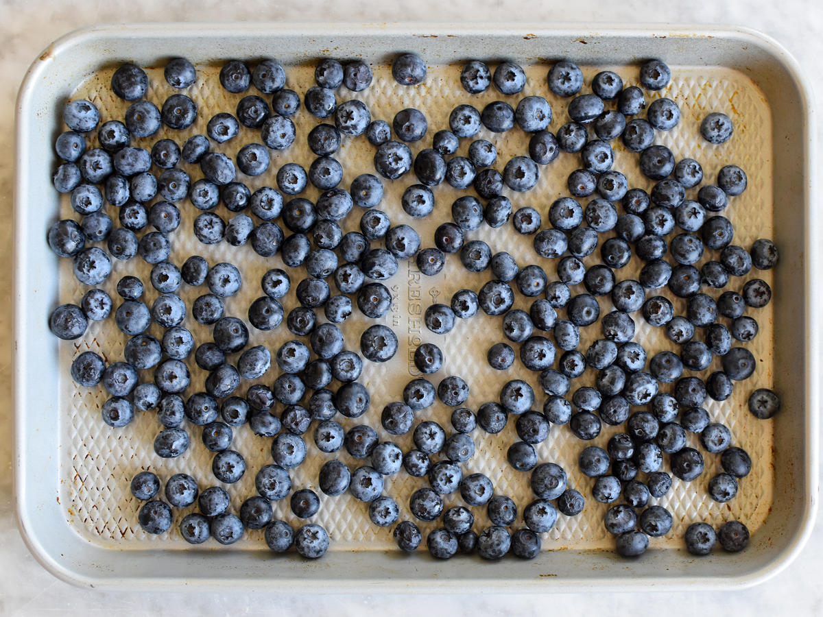 Arrange Blueberries in a Single Layer