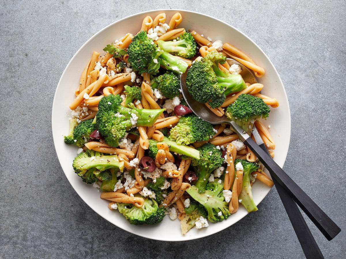 Broccoli-Feta Pasta Salad