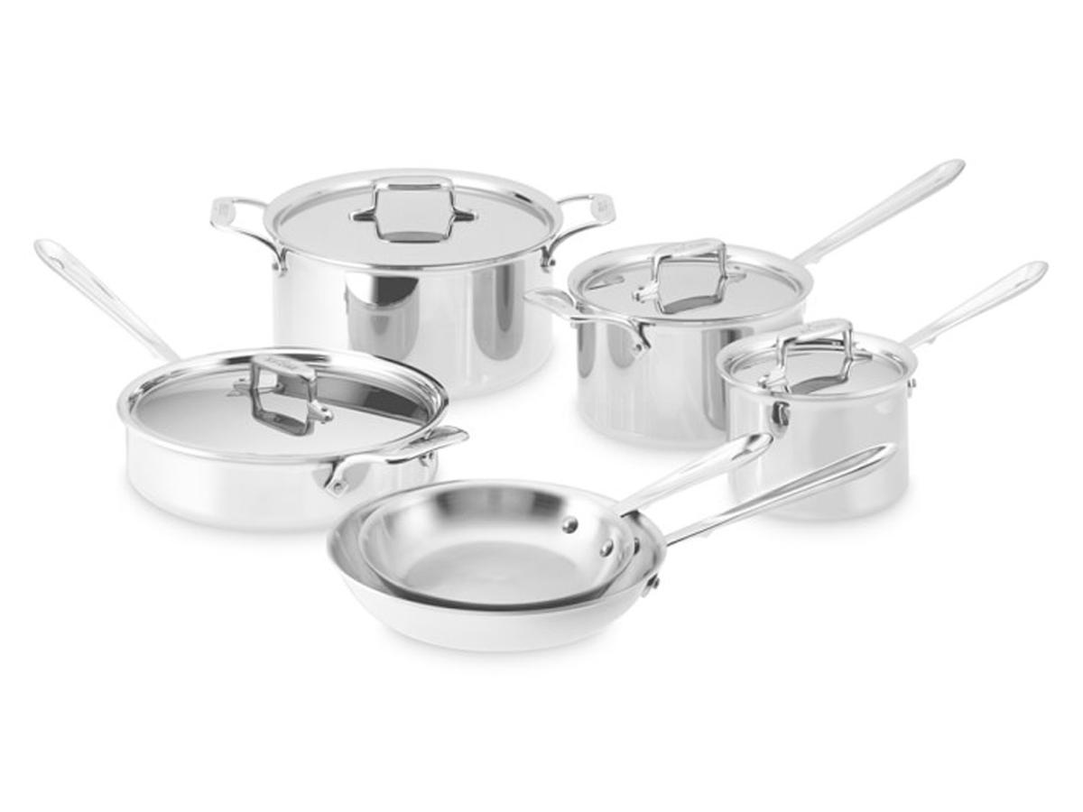 1905w All Clad 10 Piece Set