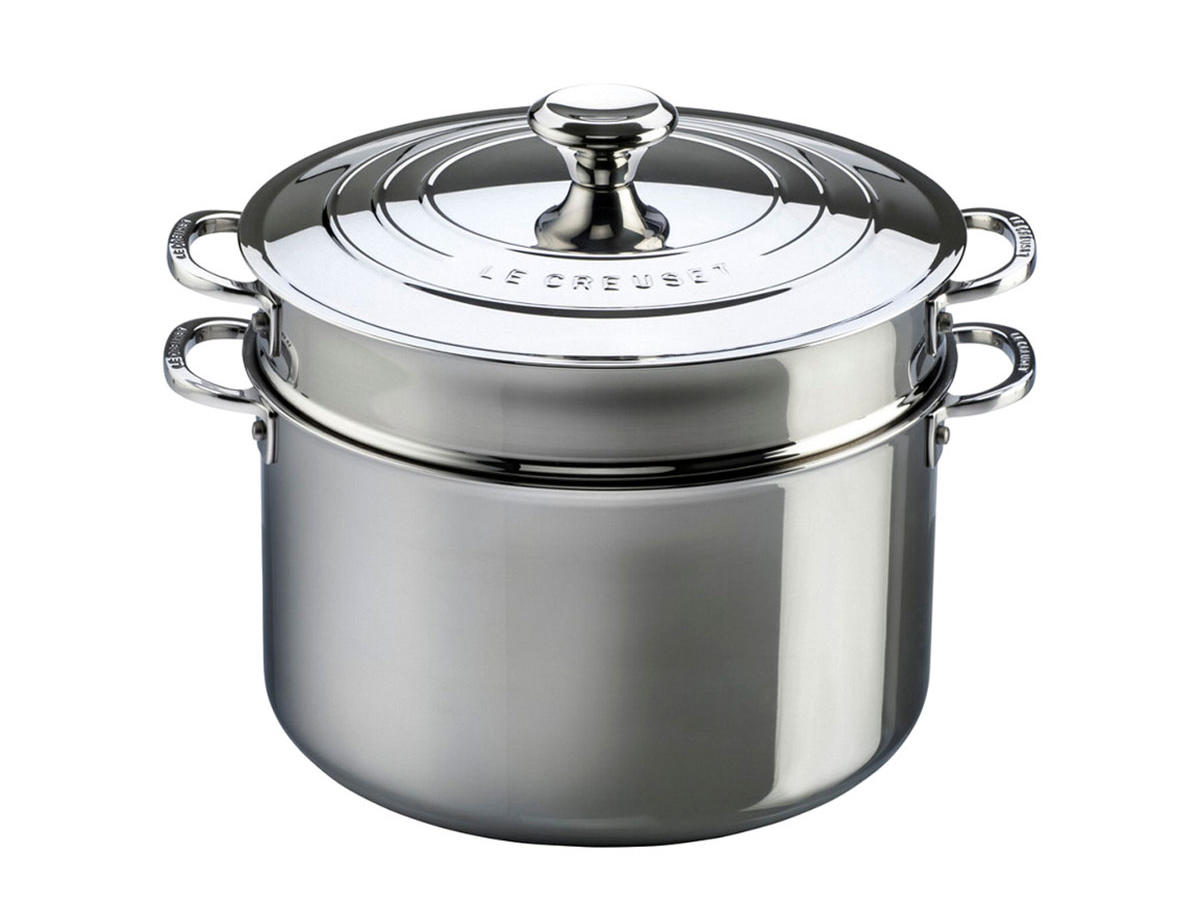 1906w Le Creuset Stainless Steel 9-quart Stockpot & Colander
