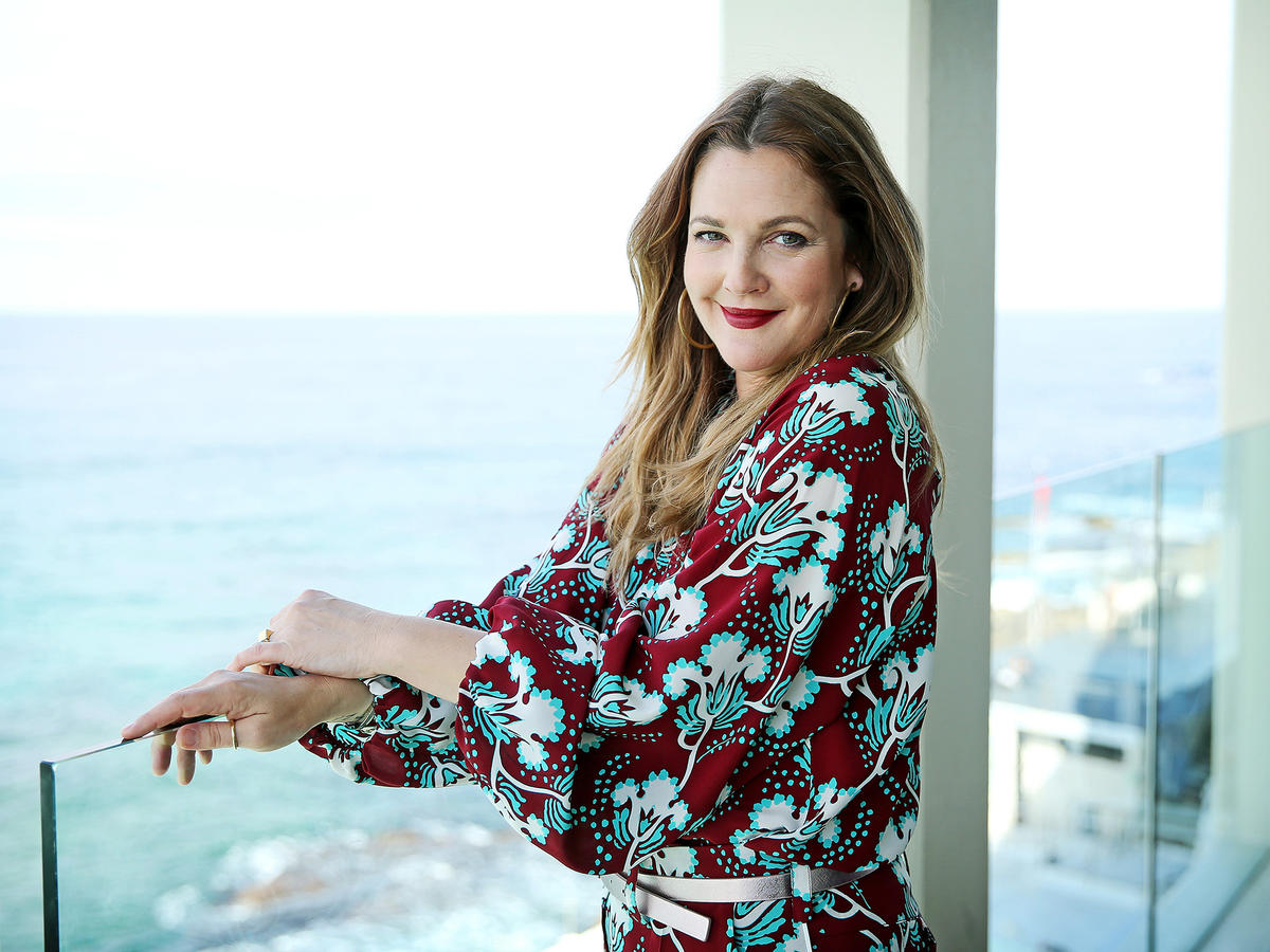 Drew Barrymore Follows the  80/20 Rule