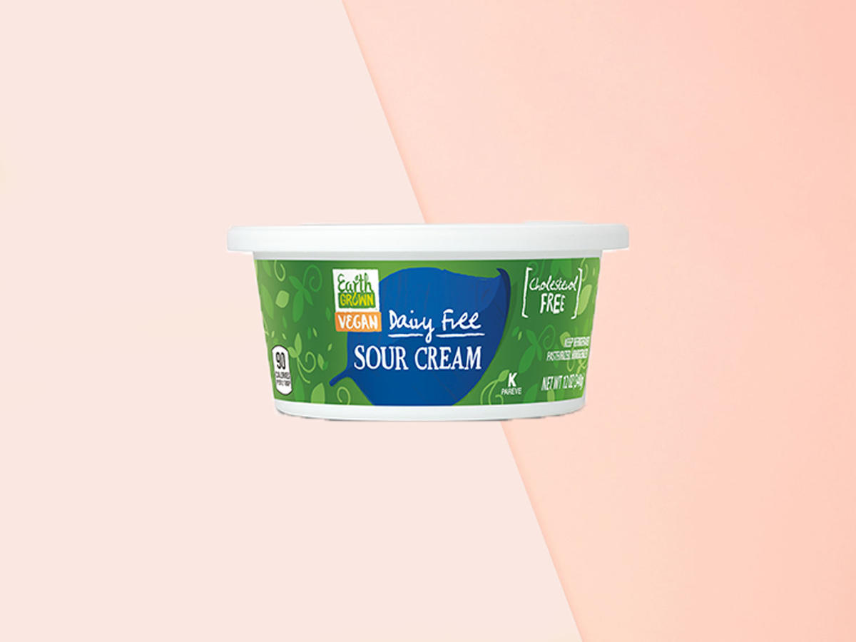 1906w Aldi vegan sour cream