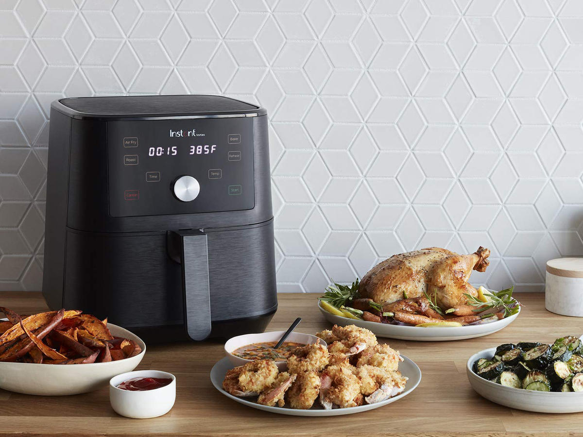 Amazon Instant Vortex 4-in-1 Air Fryer Tout