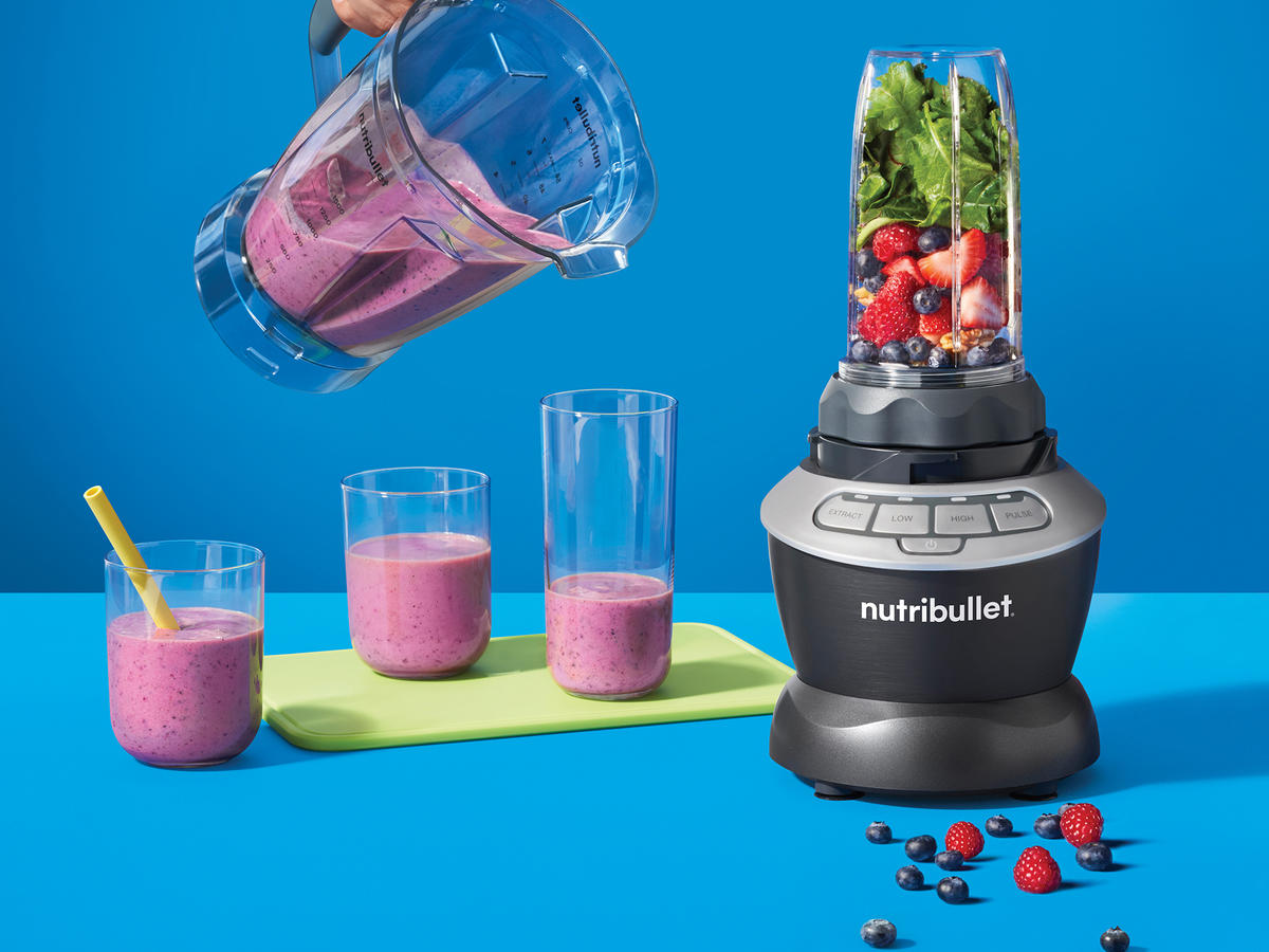NutriBullet® Blender Combo with Single Serve Cups Tout