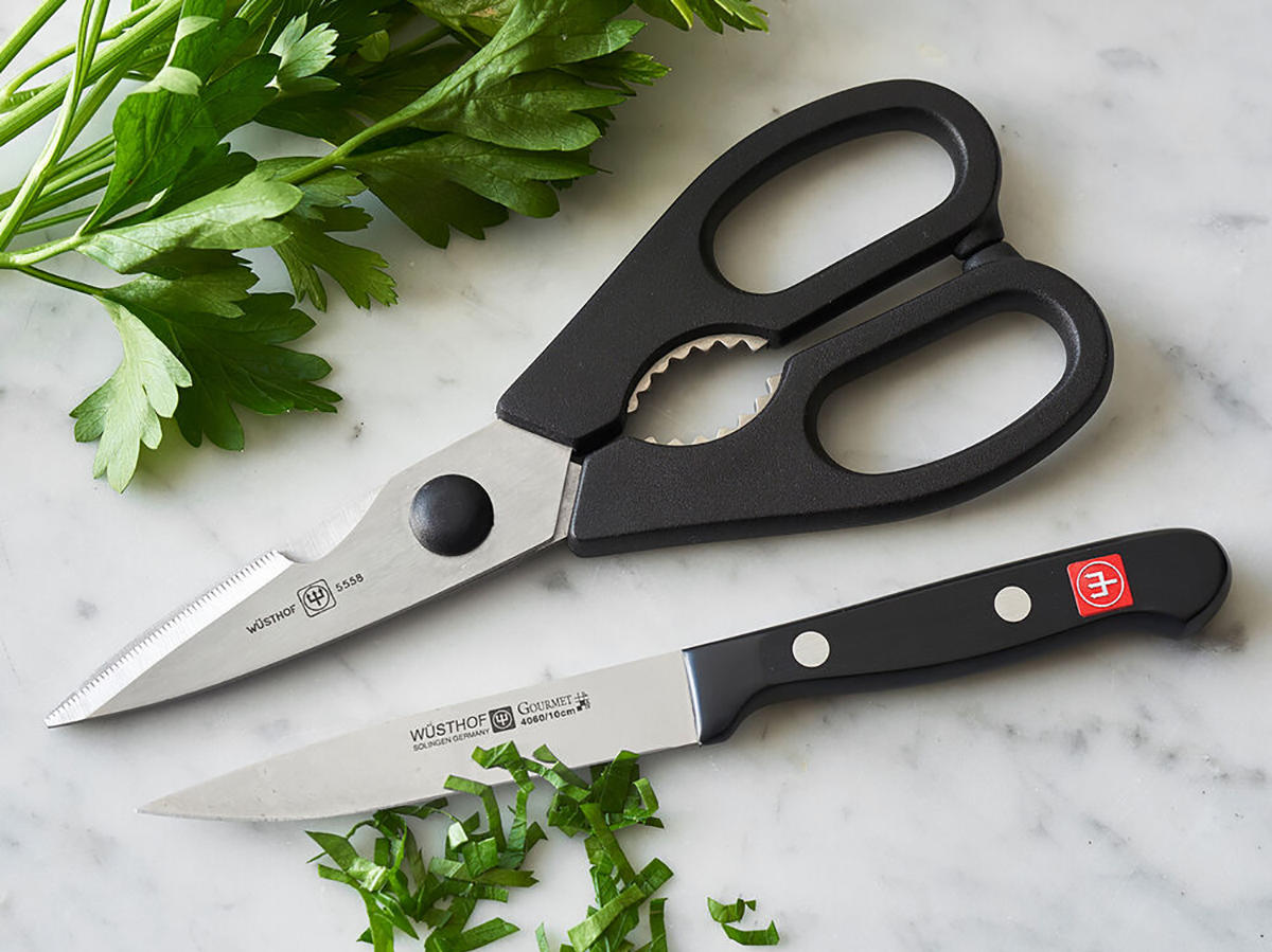 WÜSTHOF GOURMET SHEAR AND PARING KNIFE SET