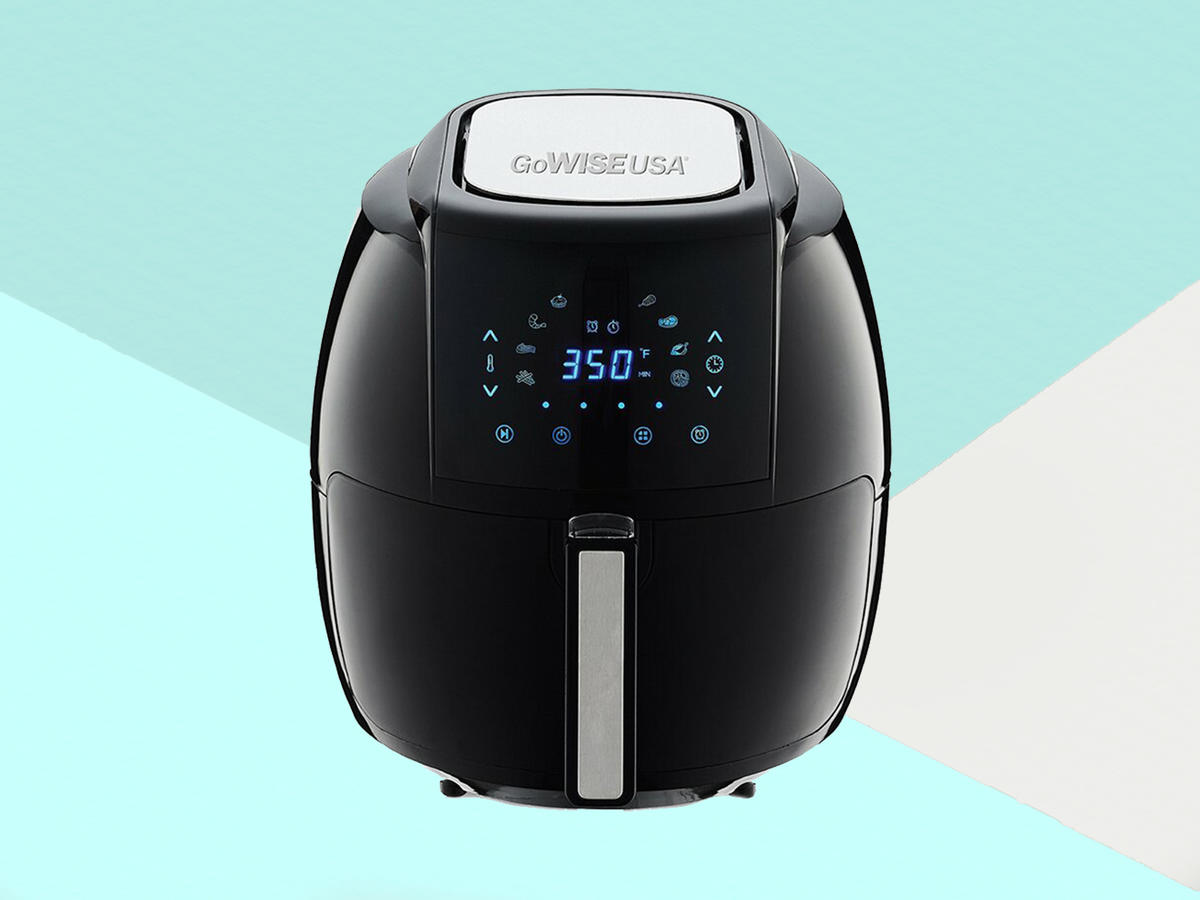 GoWISE USA 5.5 Liter 8-in-1 Electric Air Fryer Tout