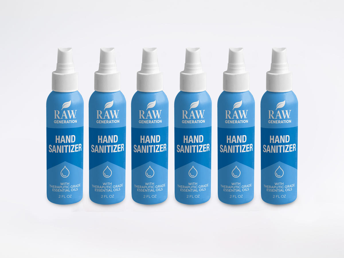 Raw Generation HAND SANITIZER