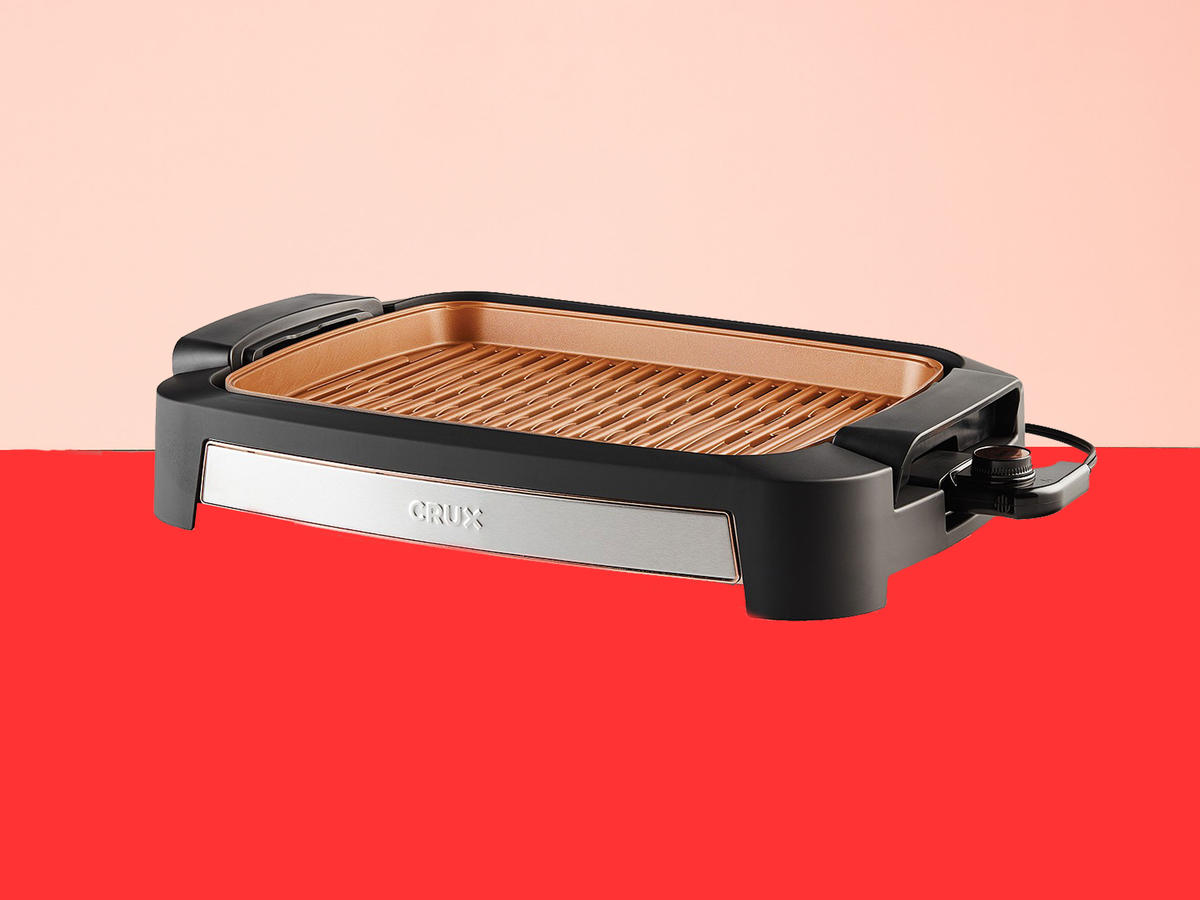 Crux XL Smokeless Electric Grill Tout