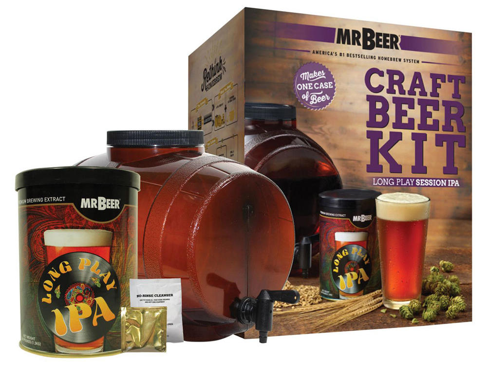Mr. Beer Long Play IPA Craft Beer Making Kit