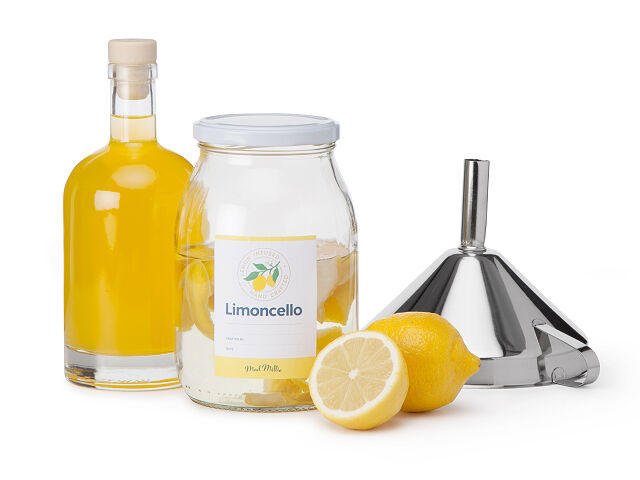 Homemade Limoncello Kit
