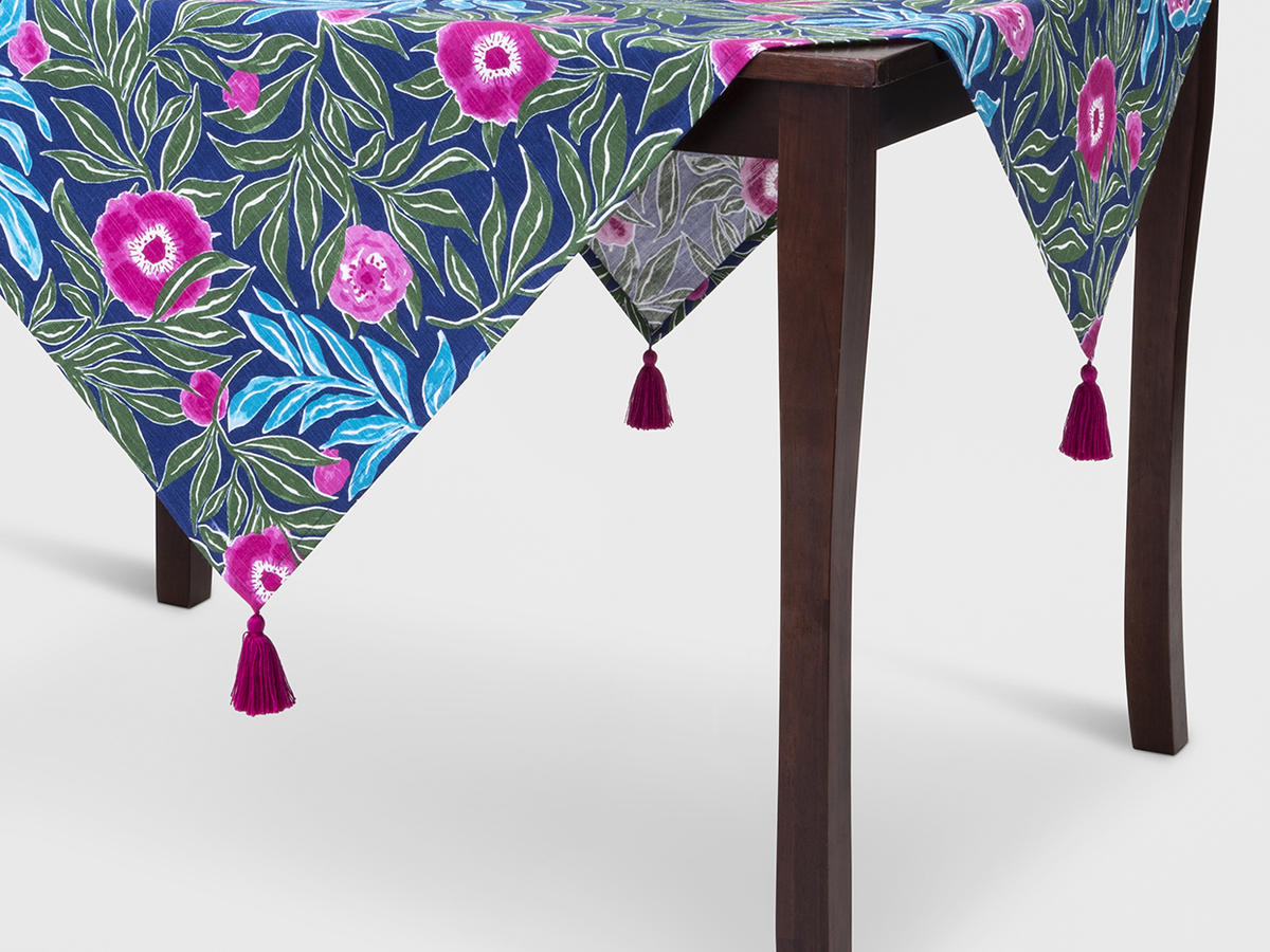 Bold Printed Tablecloth