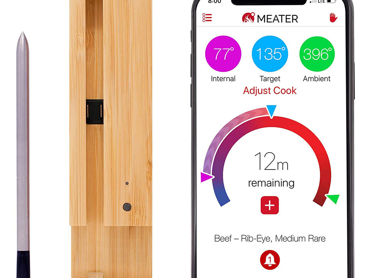 MEATER Long Range Smart Wireless Meat Thermometer app