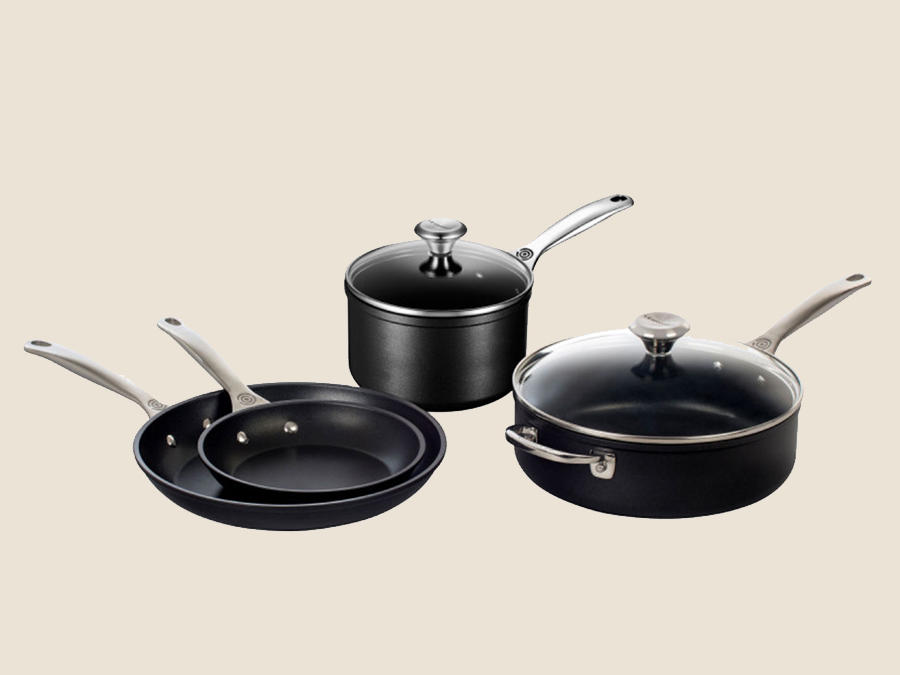 Le Creuset Toughened Nonstick Pro Six-Piece Set