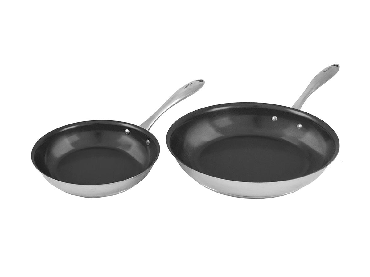 Concentrix 2 Piece Stainless Steel Non-Stick Cookware Set