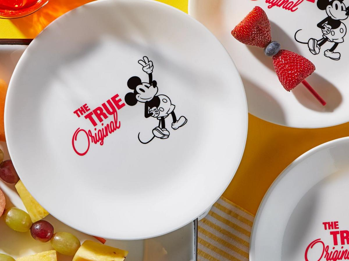Red 8.5Mickey Mouse - The True Original Salad Plate.jpg