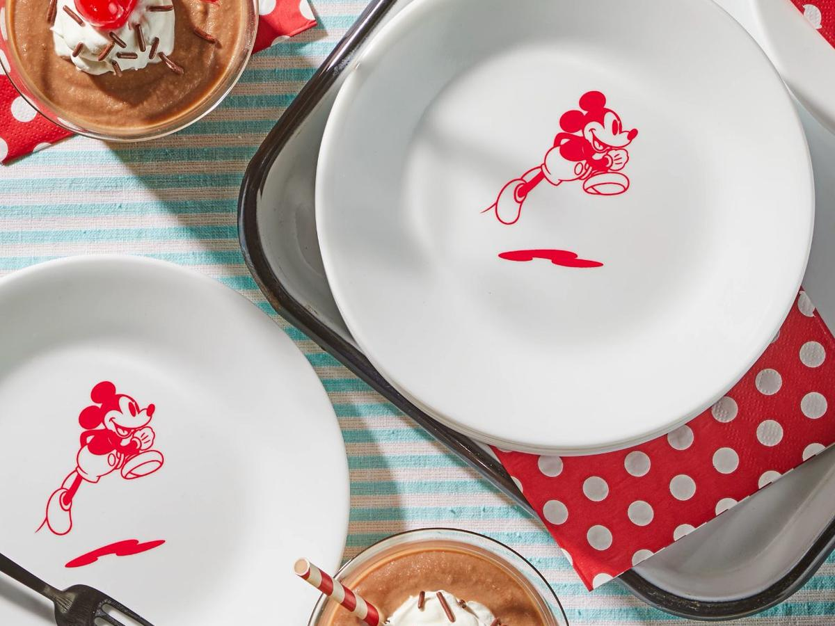 Red 6.75Mickey Mouse - Jump Appetizer Plate.jpg