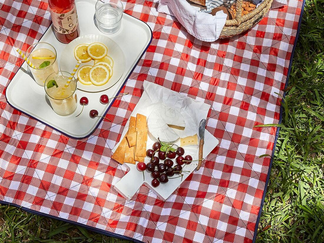 Food52's Outdoor Zip-Up Picnic Blanket Tote tout