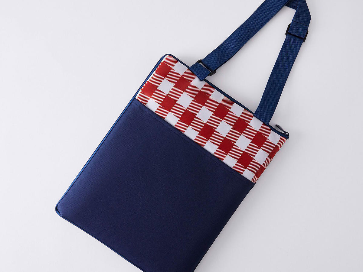 Food52's Outdoor Zip-Up Picnic Blanket Tote